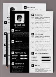 Resume Template Psd Cv Resume Template Psd Free Resume Cv Templates Free