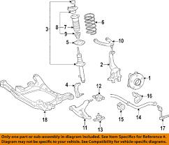 lexus toyota oem 2006 gs300 front suspension strut 4852080174 ebay