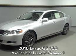 2010 lexus es 350 price 2010 lexus gs 350 awd w f sport package available at lexus of