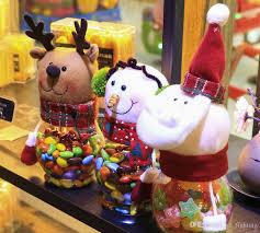 2016 wholesale transparent christmas decor mugs santa claus