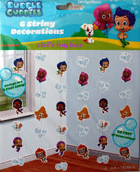Hanging Party Decorations Bubble Guppies Hanging Party Decorations