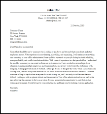 administration cover letter examples resume cover letter samples