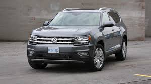 volkswagen atlas black 2018 volkswagen atlas test drive review