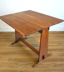 Oak Drop Leaf Table Drop Leaf Craft Table An Arts Crafts Oak Drop Leaf Table Diy Drop