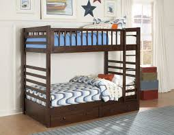 Twin Beds With Drawers Homelegance Dreamland Twin Twin Bunk Bed With Storage Drawers B33e