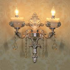 Candle Wall Sconces Golden Glass Shade Candle Wall Sconces Wrought Iron