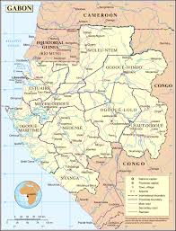 Map Og Maps Of Gabon Map Library Maps Of The World