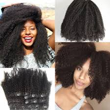 best clip in extensions eurasian afro curl clip in extensions for american