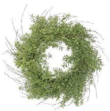 boxwood wreath one allium way 24 boxwood wreath reviews wayfair