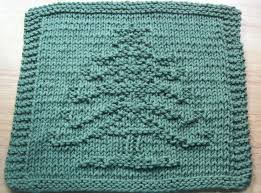 free knitting pattern christmas tree dishcloth 258 best dishcloth patterns christmas images on pinterest