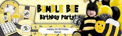 bumble bee party favors bumble bee birthday party ideas supplies and decorations