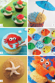 Under The Sea Decoration Ideas Under The Sea Cupcake Decorating Ideas Chickabug