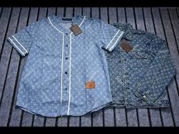 supreme x louis vuitton denim barn jacket u0026t shirt youtube