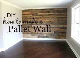 wood wall projects how to build a pallet wall project nursery