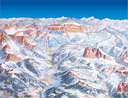 Bolzano Italy Map by Val Gardena Ski Trail Map Val Gardena 39040 Kastelruth Bolzano