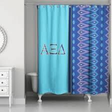 Blue Ruffle Shower Curtain White Curtains For Bathroom Cape Cod Kitchen Curtains Blue Ruffled