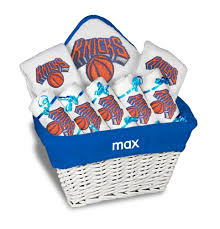 nyc gift baskets personalized new york knicks large gift basket mlb baby gift