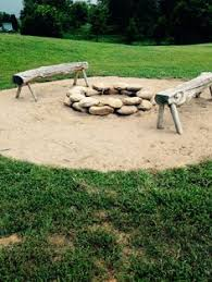 Fire Pit Rocks by Very Simple Homemade Firepit Dig Up Dirt Rock Border Done