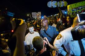 riots in ferguson missouri after police shoot michael brown