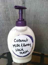 coconut milk u0026 honey for hair loss honey hair hair masks and