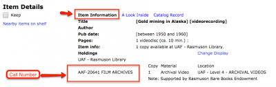 Alaska Records Search How Do I Search The Library Catalog For Alaska Archives
