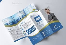 tri fold brochure template free download tri fold brochure template psd freebie nature tri fold brochure