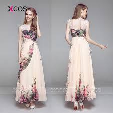 print bridesmaid dresses unique plus size flower print bridesmaid dresses scoop beaded