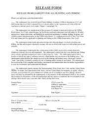 free liability release form fill online printable fillable