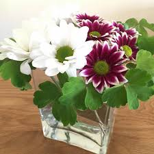 Square Vase Flower Arrangements Flower Start Online Flower Arranging Classes Garden Tea