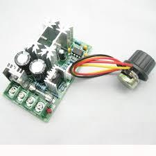 fan motor speed control switch new 12v 24v 36v 48v 60v 1200w 20a pwm fan controller dc motor speed