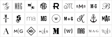 three letter monogram monogram guide monogram etiquette and graham and