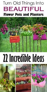 22 incredible ideas how to turn old things into beautiful flower