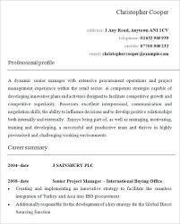 Resume Example Format by Resume Template For Retail Store Manager Templates