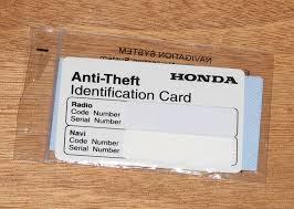 honda odyssey anti theft radio code removing honda odyssey cd player paultech