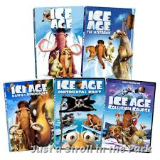 ice age complete 1 2 3 4 5 dinosaurs meltdown continental