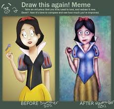 Snow White Meme - before and after meme snow white take 2 by antoine97 on deviantart