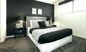 chambre noir et blanc design chambre moderne noir et blanc chambre gris noir chambre