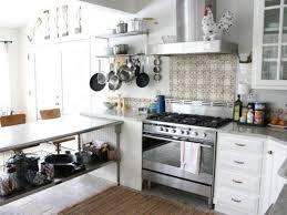 stainless steel top kitchen island breakfast bar white cushioned