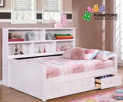 Full Bookcase Ashley Furniture Zayley Full Bedside Storage Bed For Girls
