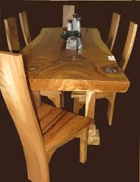Modern Wooden Dining Table Design Dining Room Gorgeous Dining Room Design With Natural Teak Wood