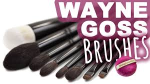 wayne goss makeup brushes beauty gossmakeupartist pinsel 2 wayne goss makeup brushes first impressions video magimania beauty