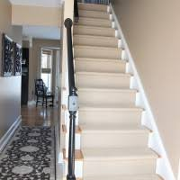 stair awesome winder stair design with striped carpet stair runner