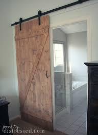 Barn Door Store by Pretty Distressed Diy Distressed Sliding Barn Door