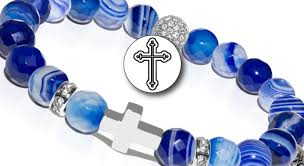 cross stone bracelet images Sacred stones joseph nogucci png