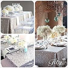 8 ft table cloth with logo amazon com trlyc 8ft 90 x156 sale choose your size sequin