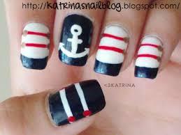 best 10 sailor nails ideas on pinterest nautical nail designs
