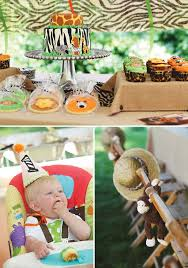 Backyard Safari Binoculars by Animal Print Backyard Safari First Birthday Hostess With The