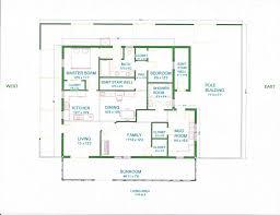 Pole Barn Home Interior barn floor plans for homes top 25 best 40x60 pole barn ideas on