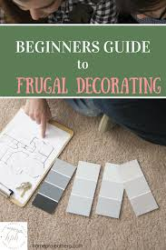 beginner u0027s guide to frugal decorating home project hero