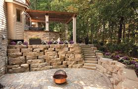 Garden Wall Retaining Blocks by Outdoor Retaining And Garden Walls
